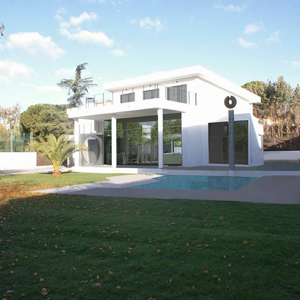 Chalet Villaviciosa - Proyecto completo; planos, distribución, diseño, instalaciones y obra.