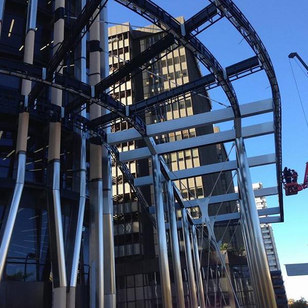 Torre de Europa - Hall de acceso, instalación eléctrica e iluminación